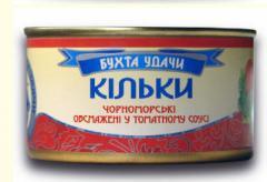 SPRATS Black Sea fried in tomato sauce