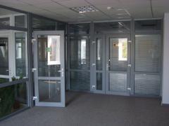 Metalwork is door