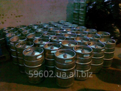 Keg beer 50 liters with a fitting (KOMBI), A