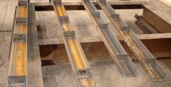 Металлоконструкции: подкрановые, кровли для зданий
