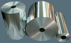 Алюминий в изделиях: плиты, ленты, листы, фольга
