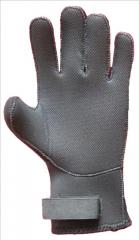 Gloves for spearfishing, underwater equipmen