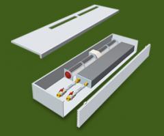 Внутристенный подоконный конвектор