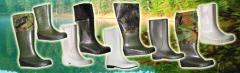 Обувь литая из ПВХ, обувь непромокаемая