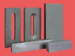 Ogneupora for steklovarenny furnaces of production