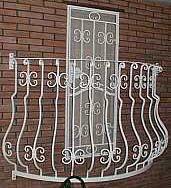 Балкон Ротонда.Ограждения балконов, лестниц