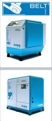 Installations compressor screw BELT Compressors of