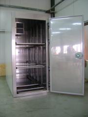Refrigerators for morgues