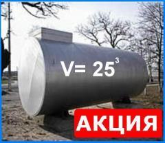 Резервуары для хранения нефтепродуктов на АЗС