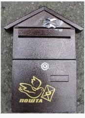 Ящики почтовые индивидуальные