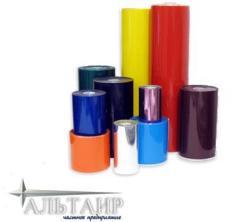 Materials for labels / Foil (ribbona) for labels