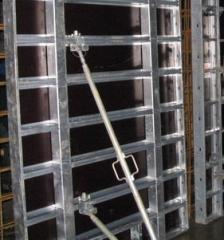 Racks and towers for a timbering