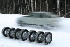 ¡Los neumáticos Invernal, la producción Ucrania,