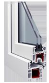 Окна металлопластиковые из профиля ALMplast