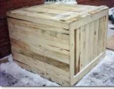 Ящики и коробки тарные деревянные. От