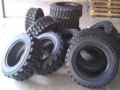 Tires for loaders elastic 5.00-8, rubber for car,