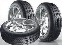 Los neumáticos de las fábricas Ucrania