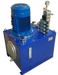 Hydraulic pump stations in wide assortment...