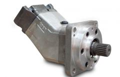 Hydromotors axial and piston
