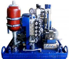 Components for hydraulic equipment