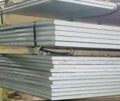 Aluminum sheet of hot-rolled D16AT 8х1200х3000 mm