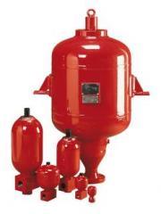 Accumulators hydraulic (hydroaccumulators)