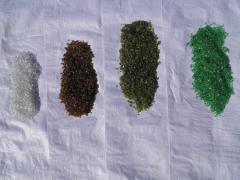 Материал фасадный отделочный - стеклокрошка