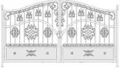 Изделия кованые Ворота