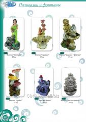 Fountains are decorative