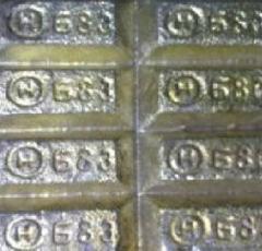 Casting brass of Chushka Spi