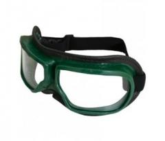 The goggles closed with direct ventilation...