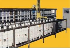 Линия химической и гальванической метализации