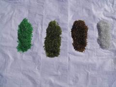 Материал отделочный - Стеклянная крошка цветная,