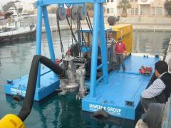 The dredge on the basis of a submersible...