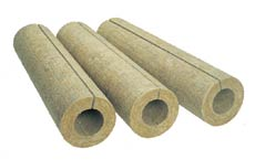 Basalt cylinders Teplo-pipe for pipe insulation