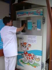 Молочный автомат, вендинговые молочные автоматы,