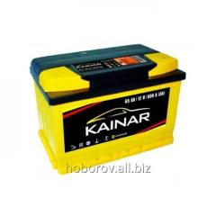 Аккумуляторы автомобильные KAINAR 65Ah-12V