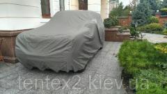 Awning on the car, a cover on the jeep