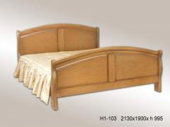 Кровать двуспальная Франческа