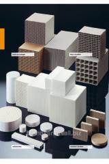 Ceramics with cellular structure