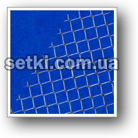 Grid rolled wattled Chain-link