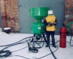 Installation of supersonic thermoabrasive cleaning