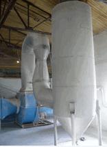 Low pressure scrubbers of Venturi