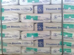 Production titanium dioxide Sumykhimprom of the