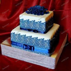 Весільні торти: Торт Індіго