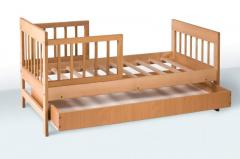 The bed is teenage, material: a beech + a