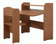 The school desk is student's single folding,