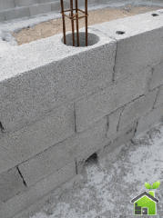 The block is wall concrete hollow, the sizes: