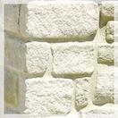 Wall laying hewn stone mshankovy limestone