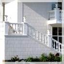 The private residence Balustrade - curbstones,